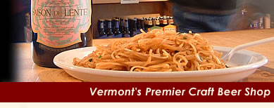 Vermont's Premier Craft Beer Shop